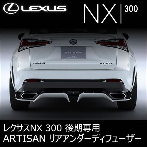 レクサス NX 300 (後期)専用 ARTISAN リアアンダーディフューザー