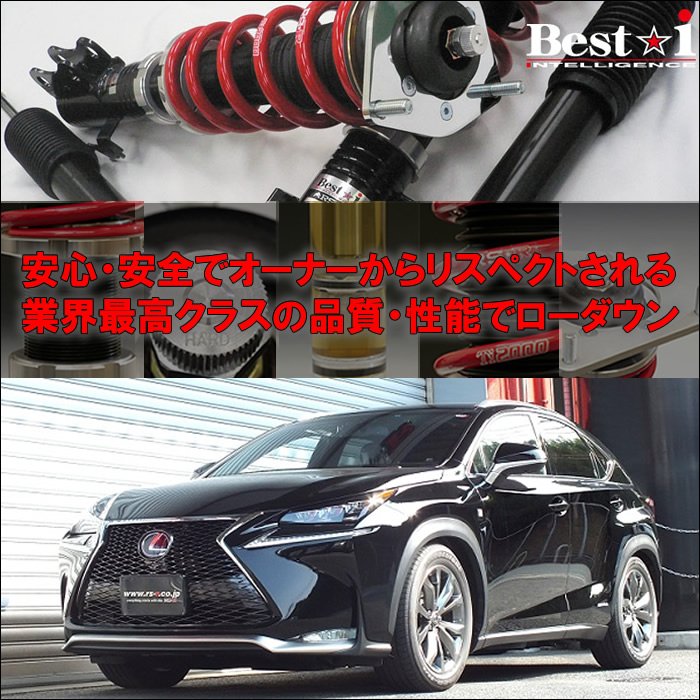 レクサス NX専用 車高調キット(RS-R Best-i)