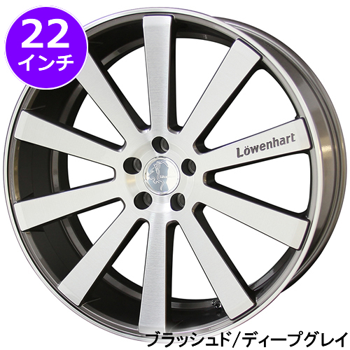 レクサス RX用 ホイール&タイヤセット(レーベンハート LW10・22インチ)