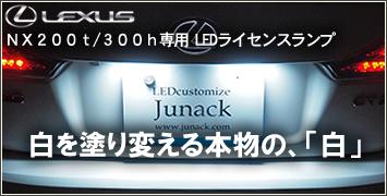 レクサス NX専用 LEDライセンスランプ
